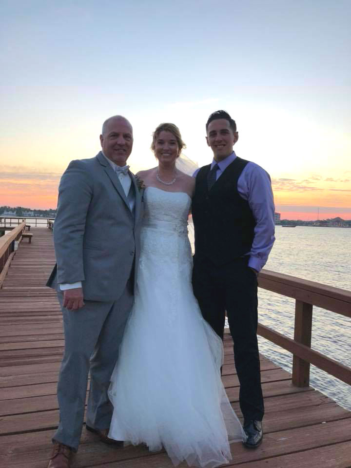 Sunset Riverfront Event Center Daytona Beach Wedding